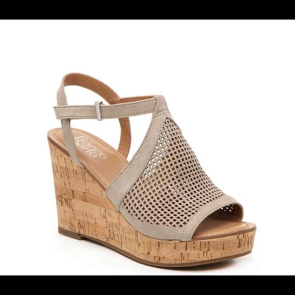 Nbw Franco Sarto Clinton 2 Wedge Sandal